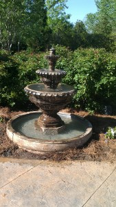 water fountain raleigh