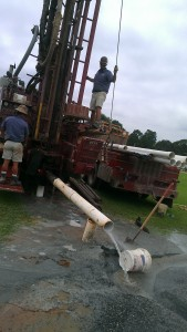 raleigh water well digging