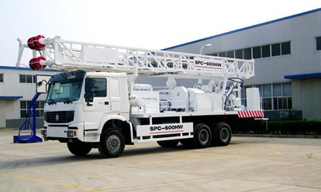 Water Well Truck Drilling Rig